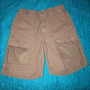 Boy's Columbia PFG half moon shorts